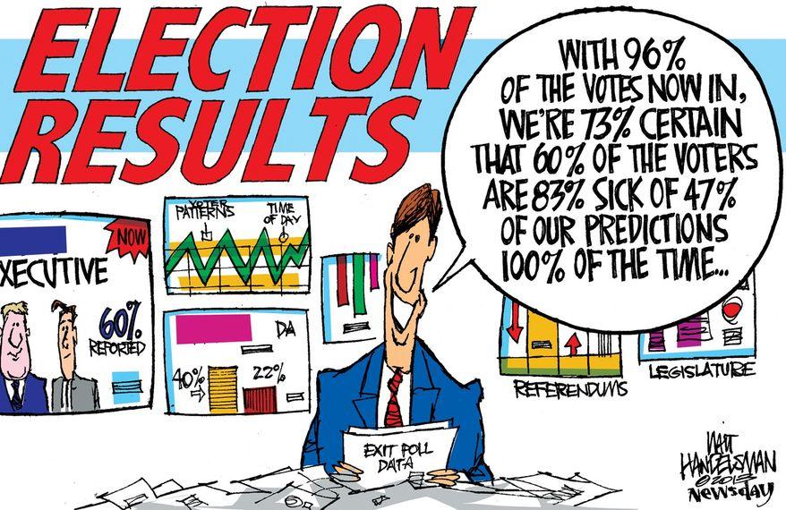 Illustration by Walt Handelsman of Newsday