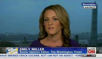Emily Miller on CNN. Nov. 5, 2013