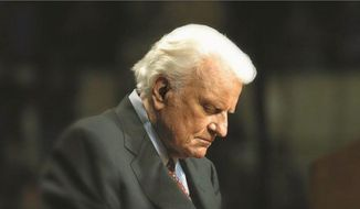 The Rev. Billy Graham (Billy Graham Evangelistic Association) ** FILE **