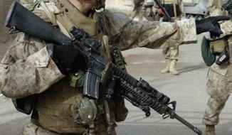 M16A4 rifle (Image: Colt.com)