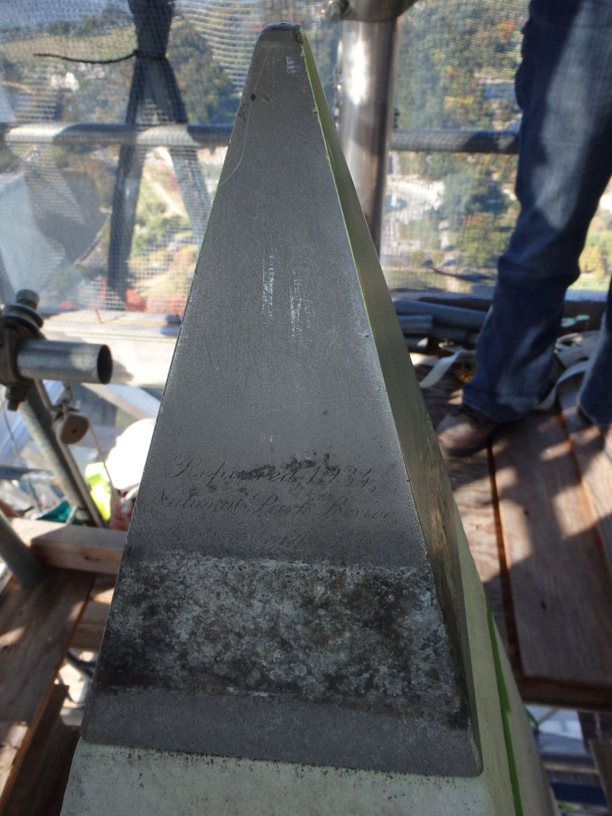 East face of the Washington Monument peak.