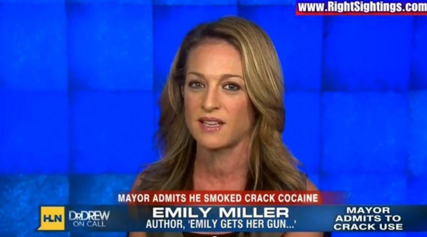 Emily Miller on CNN/HLN. Nov. 7, 2013.