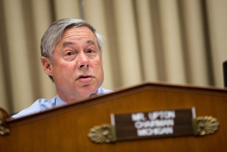 Rep. Fred Upton, Michigan Republican (Associated Press)