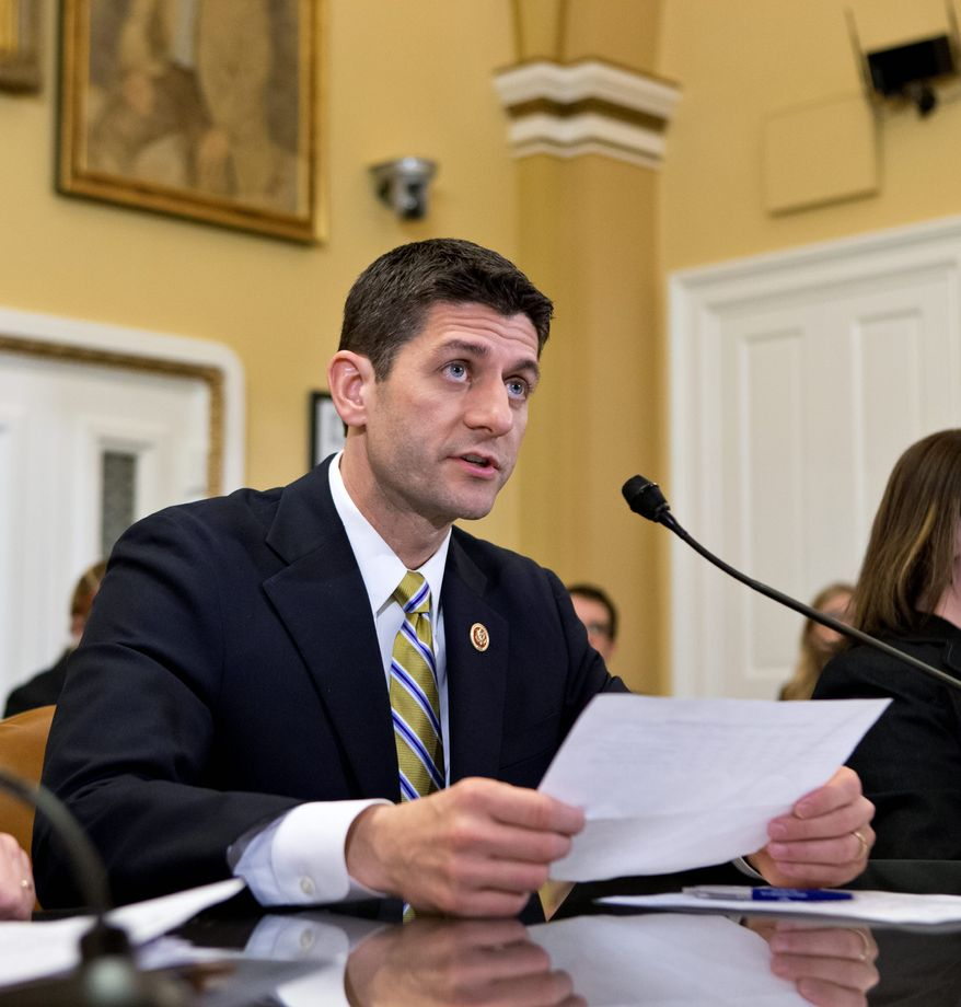 House Budget Committee Chairman Paul Ryan, Wisconsin Republican, has already ruled out tax increases as negotiators begin their work Wednesday to come up with a new federal budget. There seems to be a willingness among both political parties to revisit the sequester issue. (ASSOCIATED PRESS)