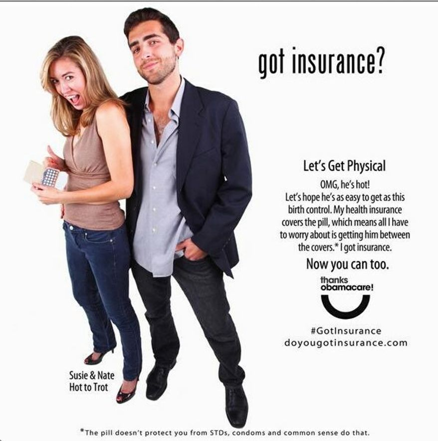 Suggestive outreach to young women from the Colorado Consumer Health Initiative promoting Obamacare has yielded comedic moments and much commentary from conservative critics. (Colorado Consumer Health Initiative)
