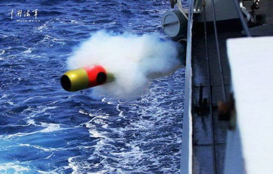 """China is reportedly testing a precision guided manuevering torpedo. A report concludes that """"China's growing diplomatic, economic, and military clout is changing the regional security architecture."""""""