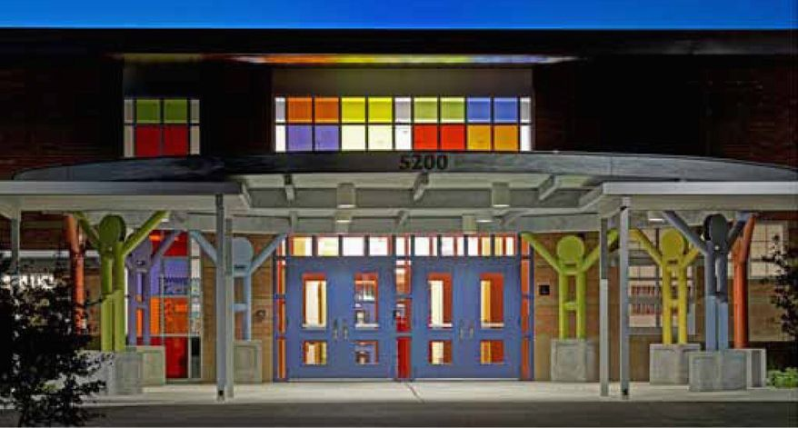 The Anita Uphaus Early Childhood Center opened to pre-kindergarten and kindergarten students in East Austin in September 2012 to relieve overcrowding at nearby elementary schools. Based on data supplied by the school district, construction costs for the center were $199 per square foot, 30 percent higher than the $153 average for pre-K/kindergarten facilities built in Texas. (www.texastransparency.org)