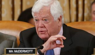 ** FILE ** Rep. Jim McDermott, Washington Democrat. (Associated Press)