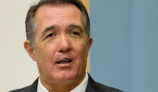 Rep. Trent Franks, Arizona Republican. (Associated Press) ** FILE **