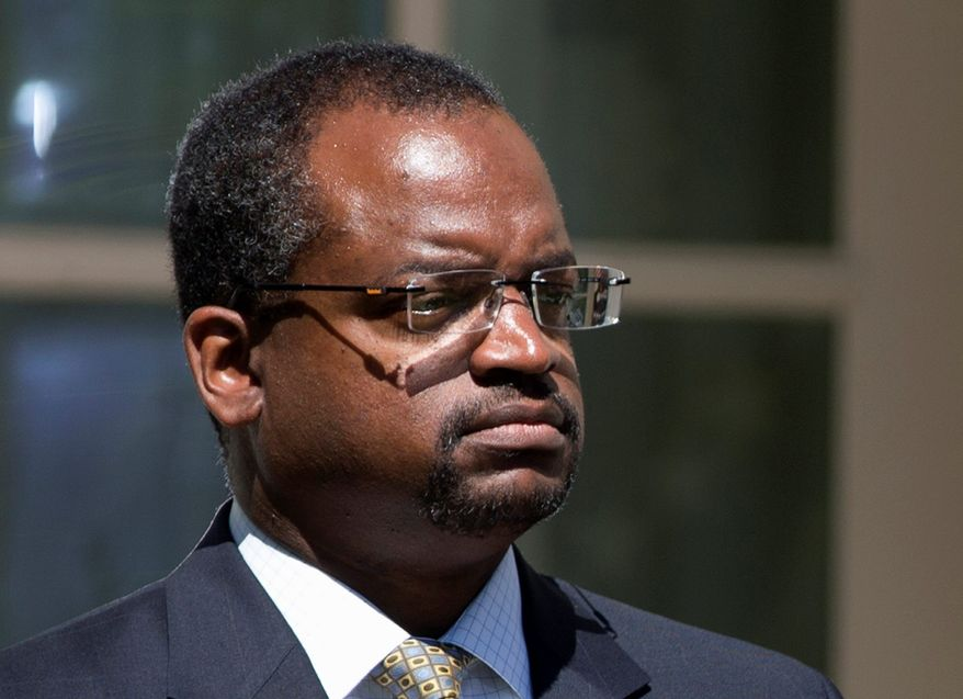 Judge Robert Wilkins, who sits on the U.S. District Court for D.C., didn't have the votes of 60 senators Monday to overcome a filibuster for his nomination to the higher U.S. Court of Appeals for D.C. (Associated Press)
