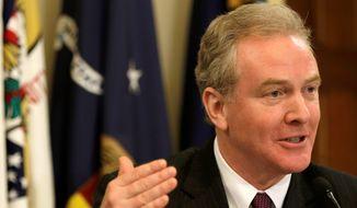 Rep. Chris Van Hollen, Maryland Democrat (Associated Press) ** FILE **
