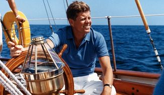 President John F. Kennedy (Courtesy U.S. Archives)