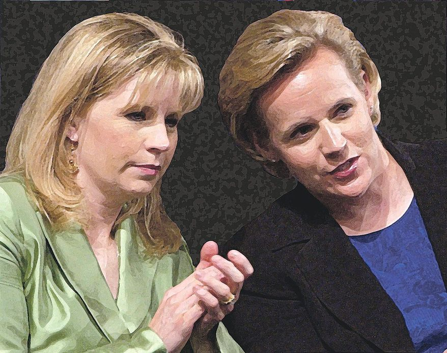 Liz and Mary Cheney, in 2006 (Associated Press)