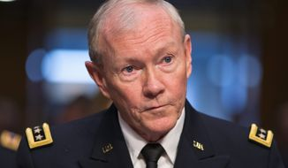 ** FILE ** Army Gen. Martin E. Dempsey is chairman of the Joint Chiefs of Staff. (AP Photo/J. Scott Applewhite)