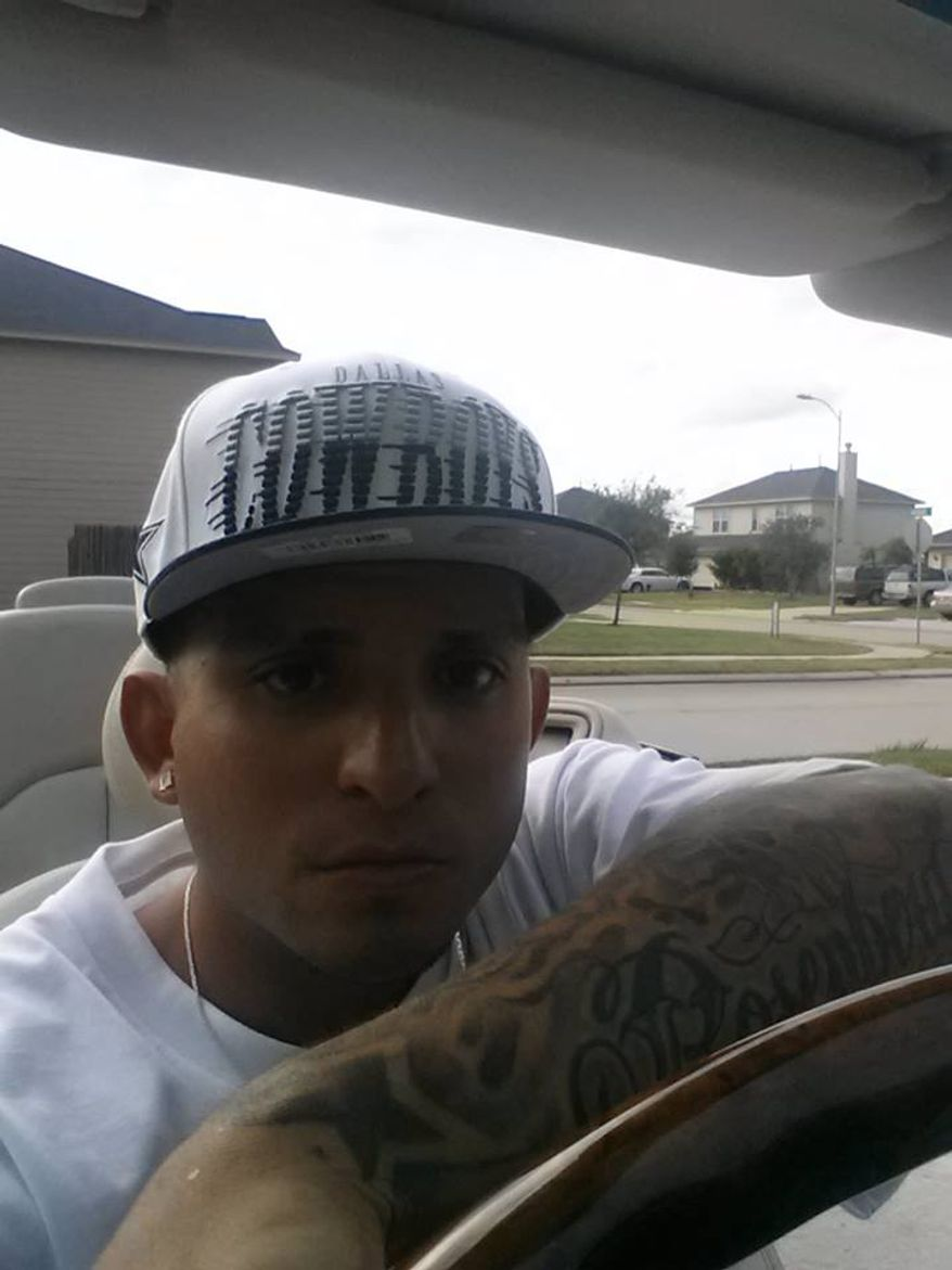 "This photo was posted under the Facebook profile for ""Rolando Lozano."" Police in Rosenburg, Texas, said they caught Lozano, a burglary suspect, after he left a taunting comment on their Facebook page."