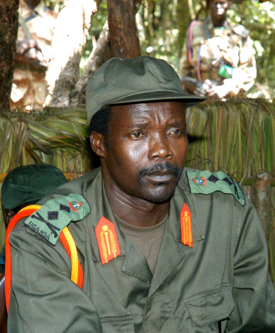 "Warlord Joseph Kony, leader of the Lord's Resistance Army, reportedly ""wants to lay down his arms,"" a spokesman for the Central African Republic government said. (Associated Press)"
