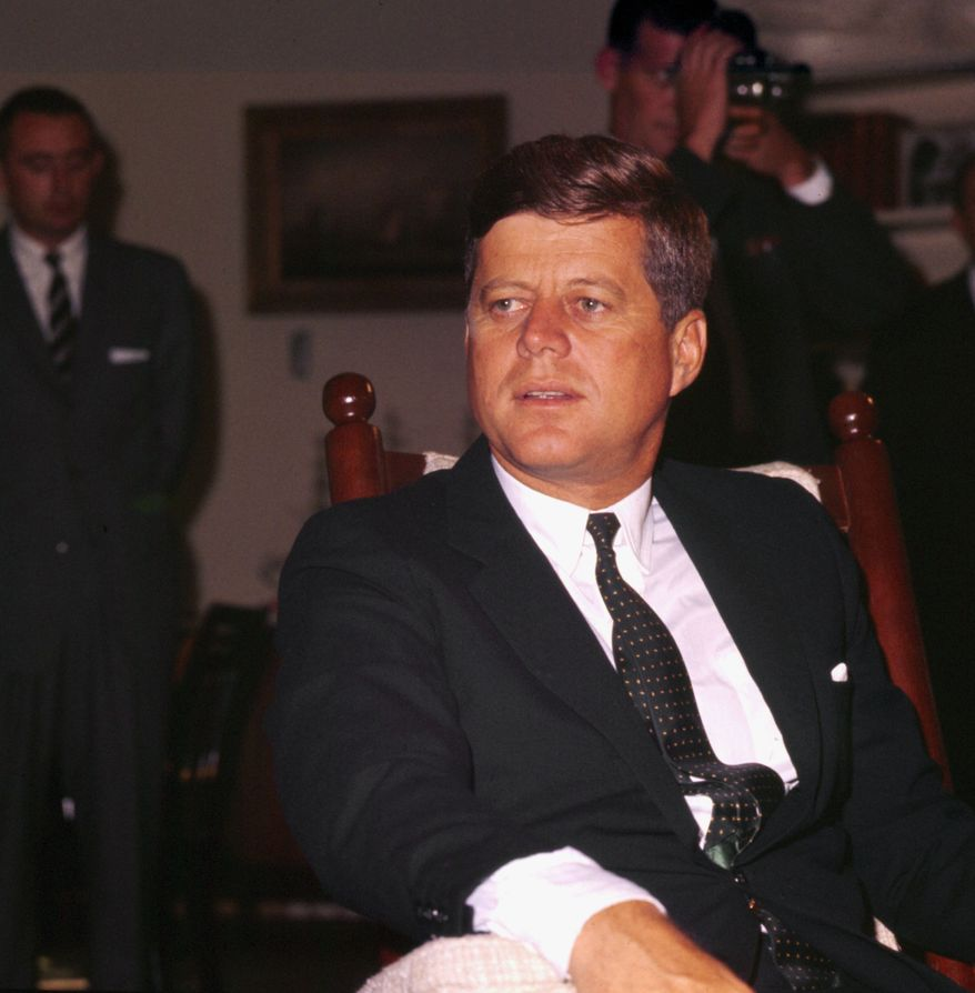 This is an undated photo of U.S. President John F. Kennedy in Washington D.C.  (AP Photo)