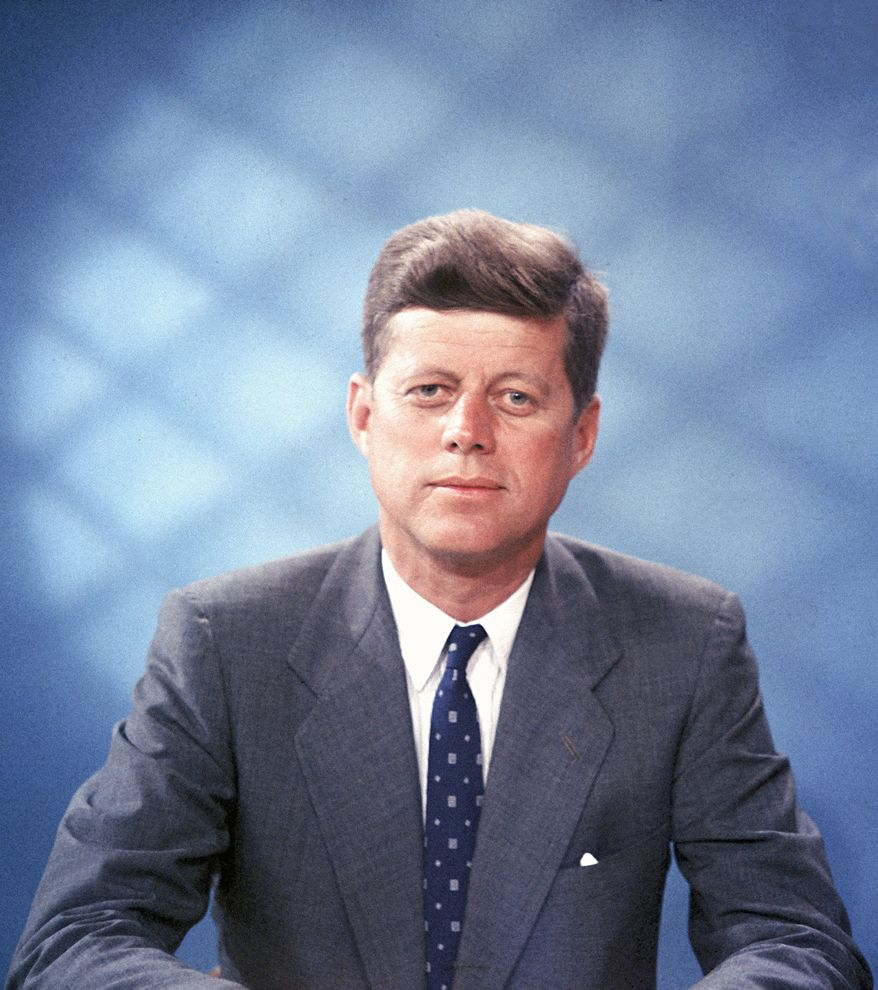 John F. Kennedy is shown in this undated photo.  (AP Photo)