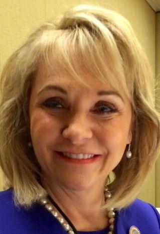 Oklahoma Gov. Mary Fallin. (Image provided by Ralph Z. Hallow)