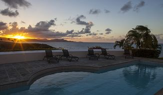 Sunrise at the Buccaneer Hotel. (credit: Buccaneer Hotel)