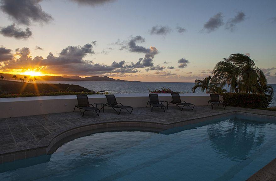 Sunrise at the Buccaneer Hotel. (credit: Buccaneer Hotel)
