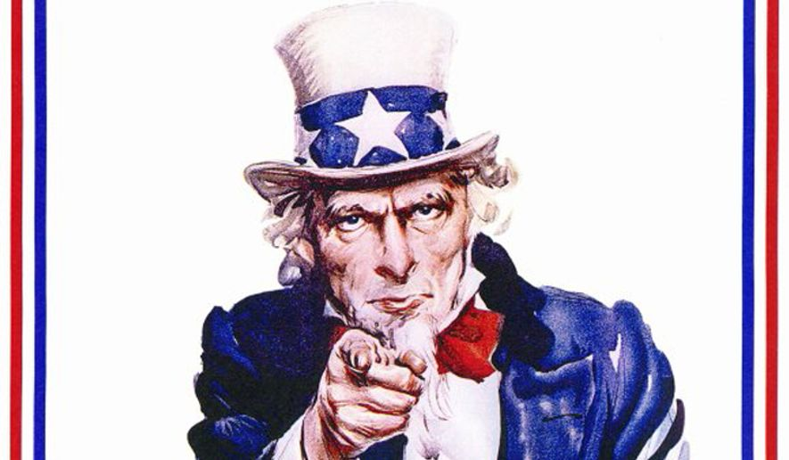 Uncle Sam 39 I Want You For Us Army Recruiting
