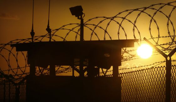 Guantanamo Bay detention camp. (Associated Press) ** FILE **