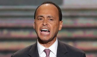 """Rep. Luis V. Gutierrez, Illinois Democrat: """"There is no reason I can think of why any branch of the military should restrict the military service of individuals based on the immigration status of someone else in their family. None. I want to know where this is happening, why and what is being done to fix it."""" (associated press)"""