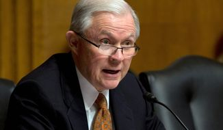 Sen. Jeff Sessions, Alabama Republican, halted Senate action on a bill last week to renew the plastic weapons ban. He objected because it was introduced just hours before the chamber adjourned.