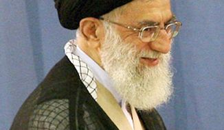 Ayatollah Ali Khamenei            Associated Press photo