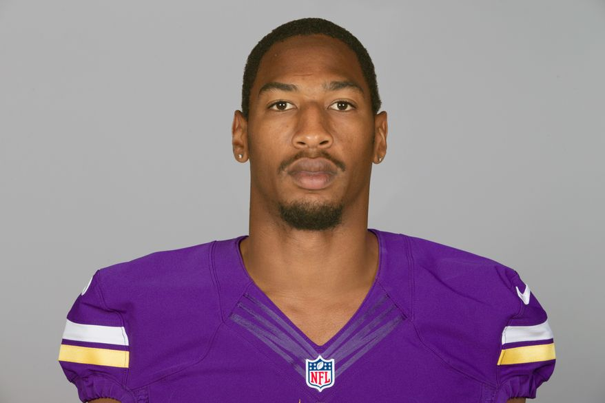 This is a 2013 photo of AJ Jefferson of the Minnesota Vikings, taken May 2, 2013. (Associated Press)