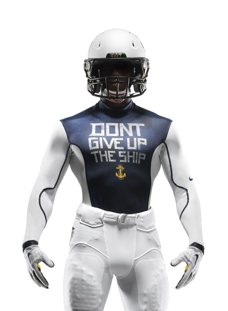 Uniforms for the 2013 Army-Navy football game were unveiled Monday by Nike