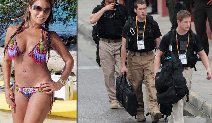 Secret Service, Diania Suarez illustration