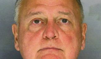 Robert Kerns, 66, a Pennsylvania lawyer and former Montgomery County Republican chairman, has been arrested on charges of drugging and raping a woman. (AP Photo/Montgomery County [Pa.] District Attorney's Office)