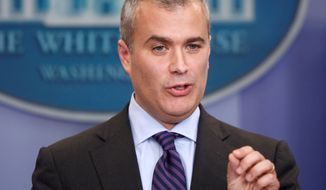 ** FILE ** Jeff Zients, outgoing point man for the Obamacare site repairs. (Associated Press)