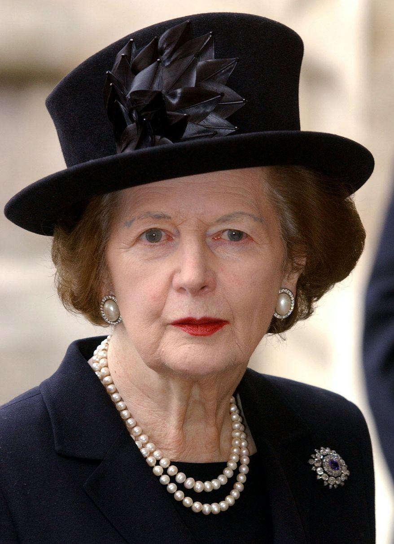 Former British Prime Minister Margaret Thatcher (AP Photo)