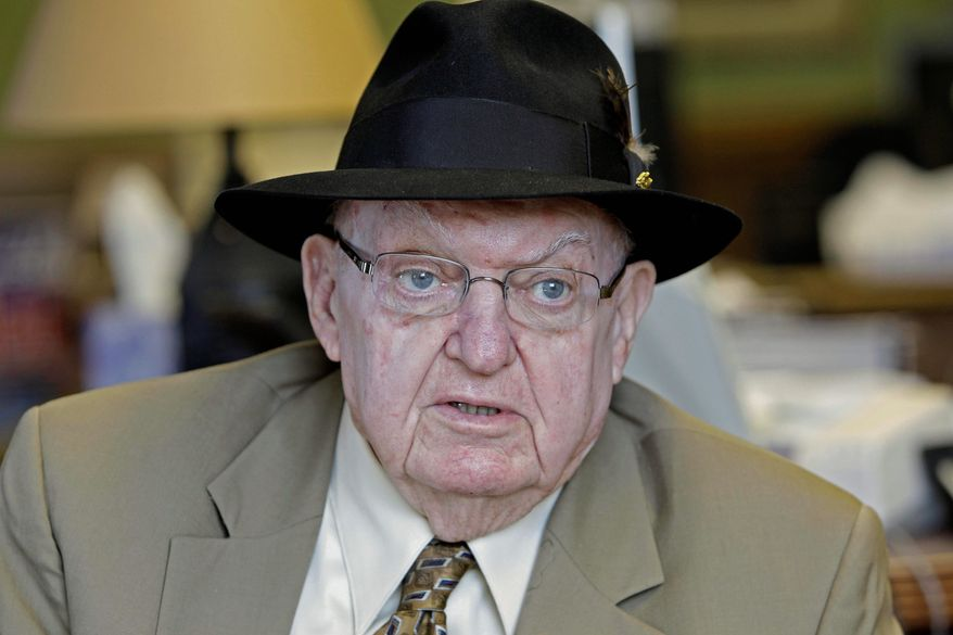 A vote on a bill that would extend a ban on undetectable plastic guns was delayed until Tuesday so that bill sponsor Rep. Howard Coble, North Carolina Republican, could be present to vote. (ASSOCIATED PRESS)