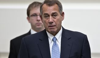 ** FILE ** House Speaker John Boehner of Ohio. (AP Photo/J. Scott Applewhite)