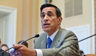 "Rep. Darrell E. Issa, a California Republican whose car-alarm business has had to defend itself in patent lawsuits, said the bill passed Tuesday ""puts a little bit of teeth finally back into what trolls use as a tool."" (Associated Press)"