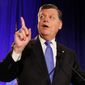 Rep Tom Cole, Oklahoma Republican, is one of 29 members of a panel trying to come up with a 2014 federal budget. The panel is considering asking federal workers to give more toward retirement. (ASSOCIATED PRESS)