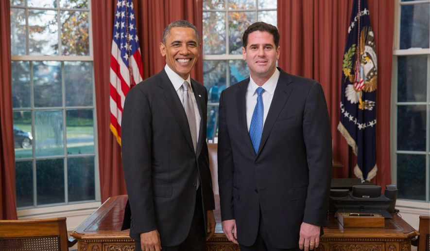 Ron Dermer, Israel's new ambassador to U.S., has presented his credentials to President Obama. Mr. Dermer started developing close ties with Republicans when he worked with party strategist Frank Luntz in the 1994 congressional campaigns. (Twitter/@AmbDermer) ** FILE **