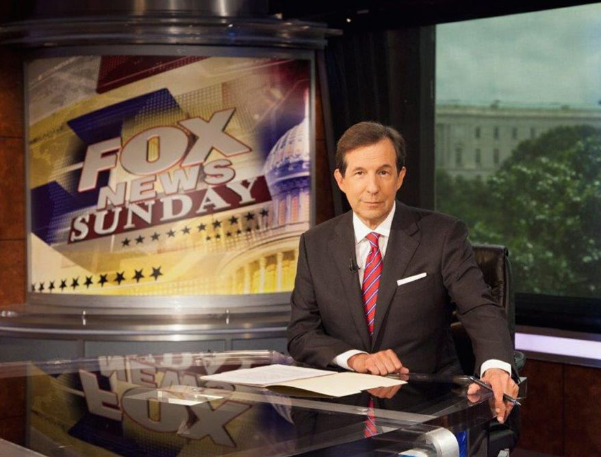 """Time flies when the show's a good one: veteran newsman Chris Wallace marks his 10th year as host of """"Fox News Sunday"""" this weekend and plans to offer a retrospective of sorts in the broadcast. (FOX NEWS)"""