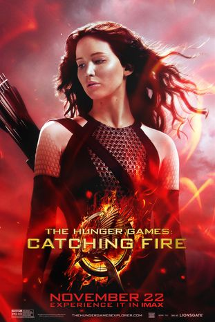 THE HUNGER GAMES: CATCHING FIRE. Photo courtesy of Lionsgate