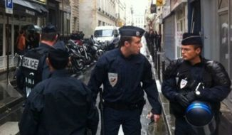 Metro Paris police (Twitter)