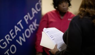 Veterans still face steep challenges in the job market when returning to the homefront. (AP Photo/File)