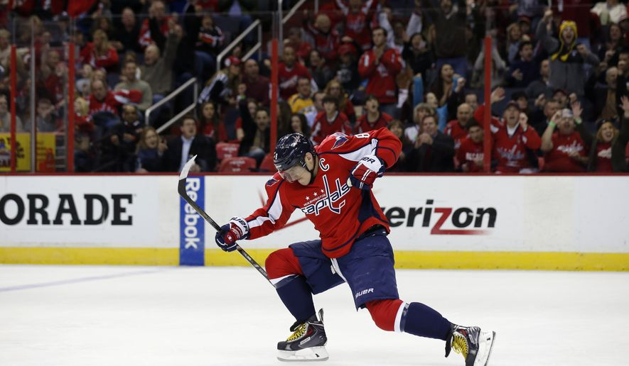 8f5d2bab945 Alex Ovechkin named NHL s  First Star of the Week  - Washington Times