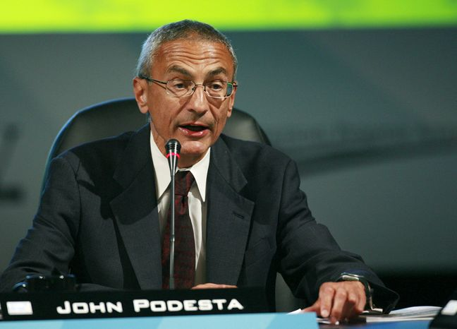 **FILE** John Podesta (Associated Press)