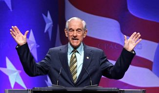 """Ron Paul is convinced that """"the big government establishment of both parties"""" wants him and his followers to shut up and go home."""