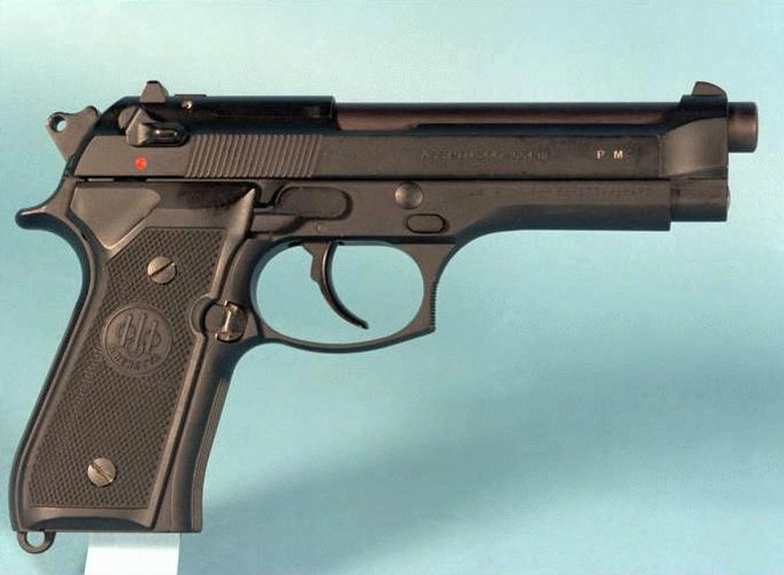 """No. 6: Beretta. Maryland-based Beretta, made famous in such movies as """"Lethal Weapon,"""" made 101, 755 pistols in 2011."""