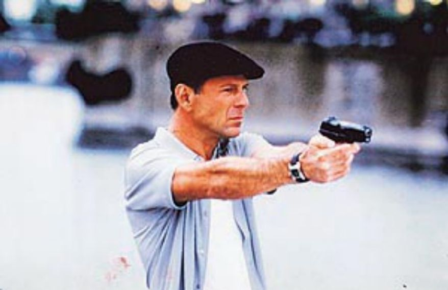 "Actor Bruce Willis playing the role of Jimmy ""The Tulip"" Tudesky in the movie ""The Whole Nine Yards"" uses a Ruger P89. See the Top 10 handguns in the U.S. here: <a href=""http://www.washingtontimes.com/multimedia/collection/top-10-handguns/"" target=""blank"">http://www.washingtontimes.com/multimedia/collection/top-10-handguns/</a>"